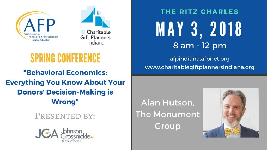 May 3, 2018 Spring Conference with AFP-IC @ Ritz Charles | Indianapolis | Indiana | United States